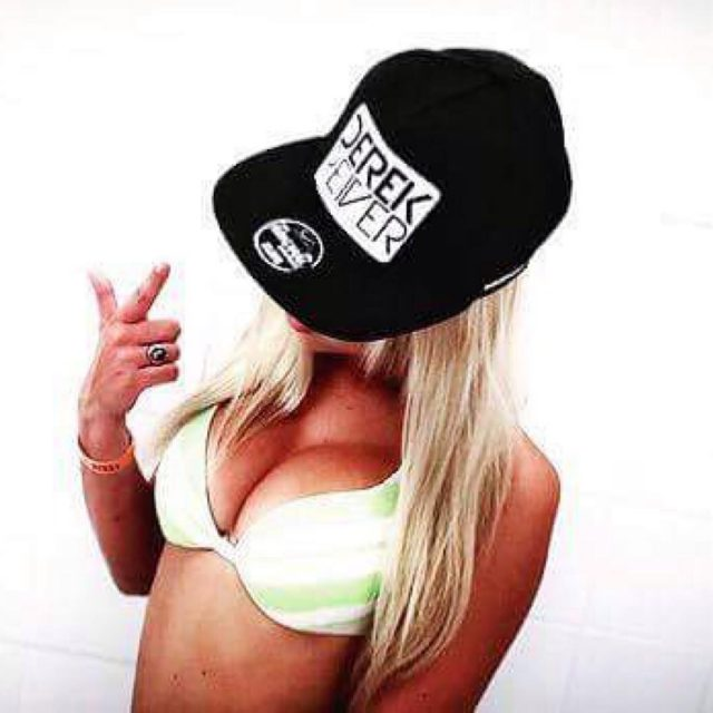 SNAPBACK deejay dj snapback house music model blonde boobs blackandwhitehellip