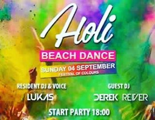 Tomorrow  PANAMA BEACH CLUB holi beach dance Festival ofhellip