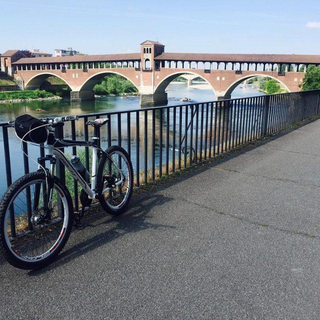1 Stop Lungo Ticino Pavia training bike mtb mtbpictureoftheday givemewaterhellip