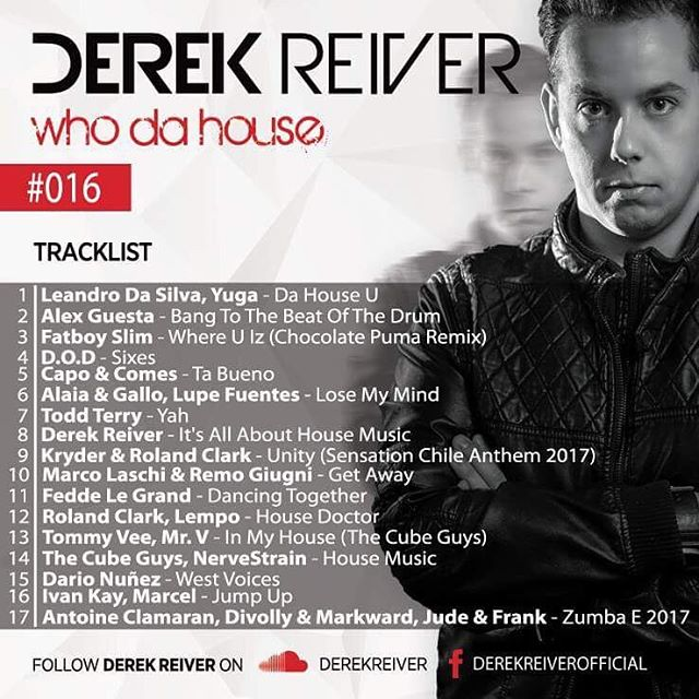 My New Radioshow is Out NOW WHO DA HOUSE 016hellip